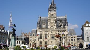 L'hôtel de ville de Compiègne, dans l'Oise
