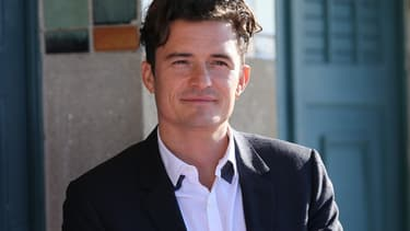 Orlando Bloom, le 6 septembre 2015 - Charly Triballeau - AFP