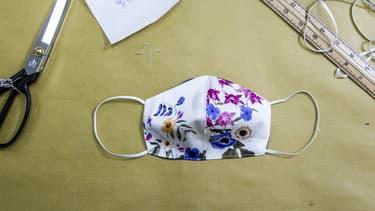 L'idée est venue alors que le port du masque se généralise.