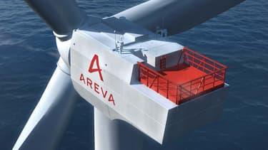 Areva et Gamesa fusionnent pour développer l'éolien en mer.