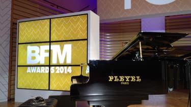 Les BFM Awards se tenaient pour la première fois Salle Pleyel, 1.500 personnes y ont assisté.