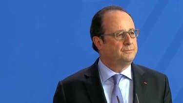 François Hollande à Berlin le 27 juin 2016.