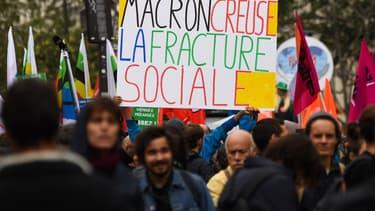 Les fonctionnaires ont fait une première manifestation le 10 octobre.
