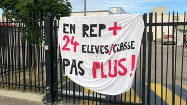 Les professeurs du collège Henri Barbusse sont en grève depuis la rentrée.