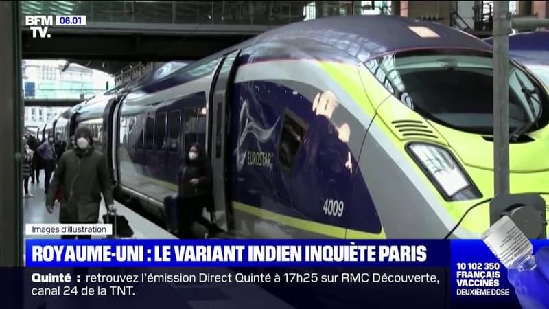 """la France va imposer un """"isolement obligatoire"""" de 7 jours pour les voyageurs en provenance du Royaume-Uni"""