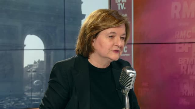 Nathalie Loiseau sur BFMTV et RMC le 28 mars.