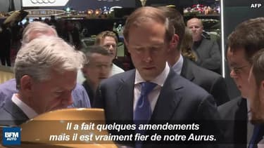 Aurus, la marque automobile dont rêvait Poutine, s'expose à Genève