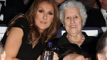 Céline Dion et sa mère Thérèse en 2010