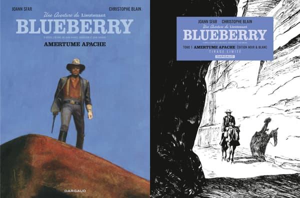 Blueberry de Joann Sfar et Christophe Blain