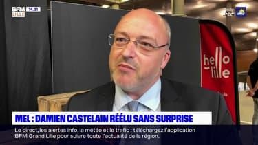 Métropole européenne de Lille: Damien Castelain a été réélu sans surprise