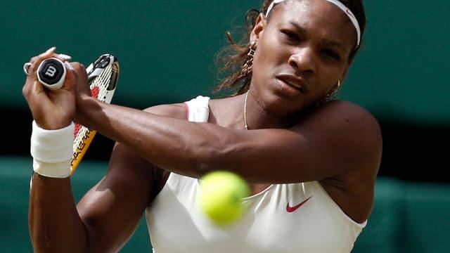Serena Williams, de retour sur le circuit à Eastbourne.