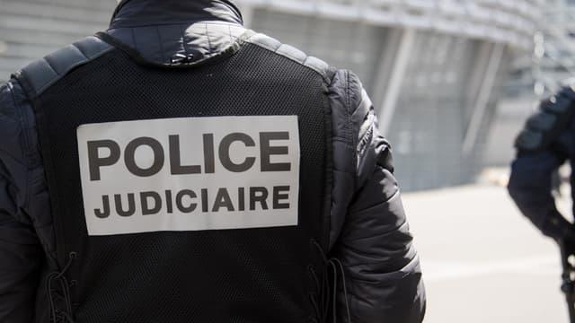 Un membre de la police judiciaire (PHOTO D'ILLUSTRATION)