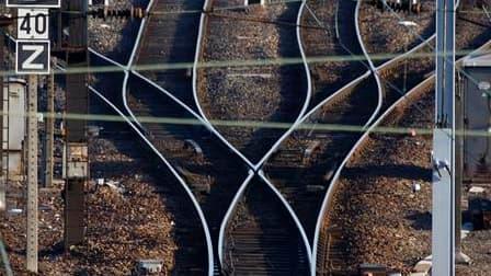 Selon la SNCF, le trafic ferroviaire a repris progressivement samedi en gare de Paris-Austerlitz après plusieurs heures d'interruption due aux dégâts commis par la foudre sur un système électrique. /Photo d'archives/REUTERS/Vincent Kessler