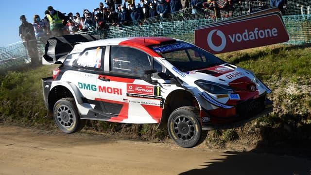 Sébastien Ogier au rallye du Portugal