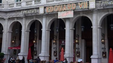 Le théâtre Edouard VII, dans le 9e arrondissement de Paris.