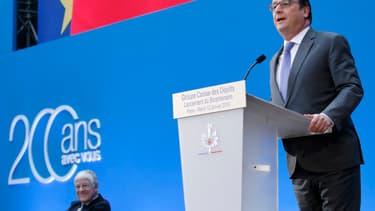 François Hollande a effectué plusieurs annonces, pour le lancement du bicentenaire de la CDC.
