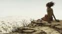 Détail de la couverture d'Au pied de la falaise