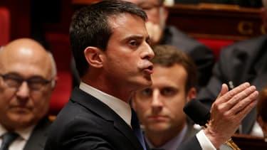 """Manuel Valls a présenté la stratégie numérique du gouvernement, présentée comme de premières pistes en vue de construire une """"République numérique"""", en amont du futur projet de loi que doit prochainement porter la secrétaire d'Etat au numérique Axelle Lemaire."""