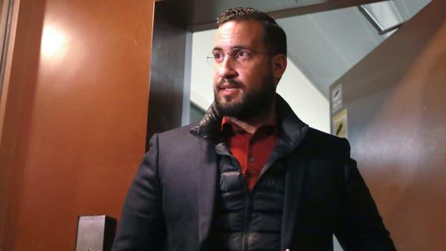 Alexandre Benalla quitte la prison de la Santé, le 26 février 2019.