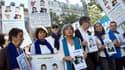 Rassemblement pour les otages au Sahel à Marseille, le 21 septembre.