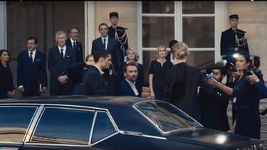 """Une image extraite de la publicité pour le nouveau parfum de Jean-Paul Gaultier, """"Scandal""""."""