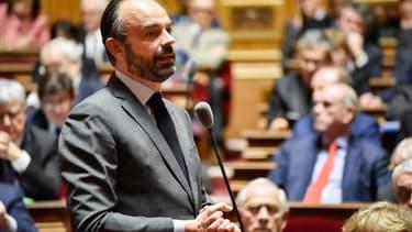 Édouard Philippe au Sénat le 14 février 2019