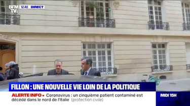 François Fillon a quitté son domicile pour se rendre au palais de justice
