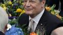 Joachim Gauck a été élu dimanche à la présidence allemande au premier tour de scrutin après avoir reçu le soutien des principaux partis du pays. /Photo prise le 18 mars 2012/REUTERS/Thomas Peter