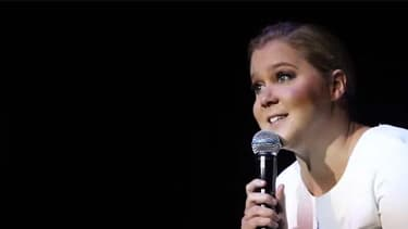 Amy Schumer, lors de son spectacle à Stockhom, le 1er septembre.
