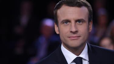 Emmanuel Macron s'est démarqué de François Hollande