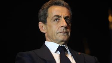 Nicolas Sarkozy, le président du parti Les Républicains et pas encore officiellement candidat à la primaire de la droite.
