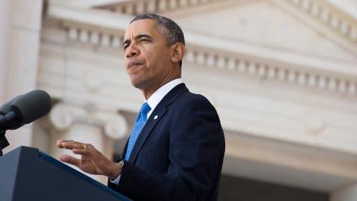 Barack Obama, le 26 mai 2014.