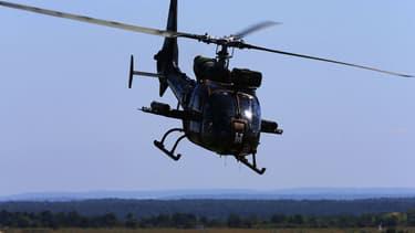 L'hélicoptère Gazelle s'est écrasé dans des circonstances encore floues.