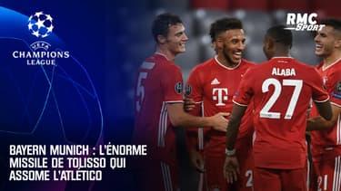 Bayern Munich : l'énorme missile de Tolisso qui assomme l'Atlético