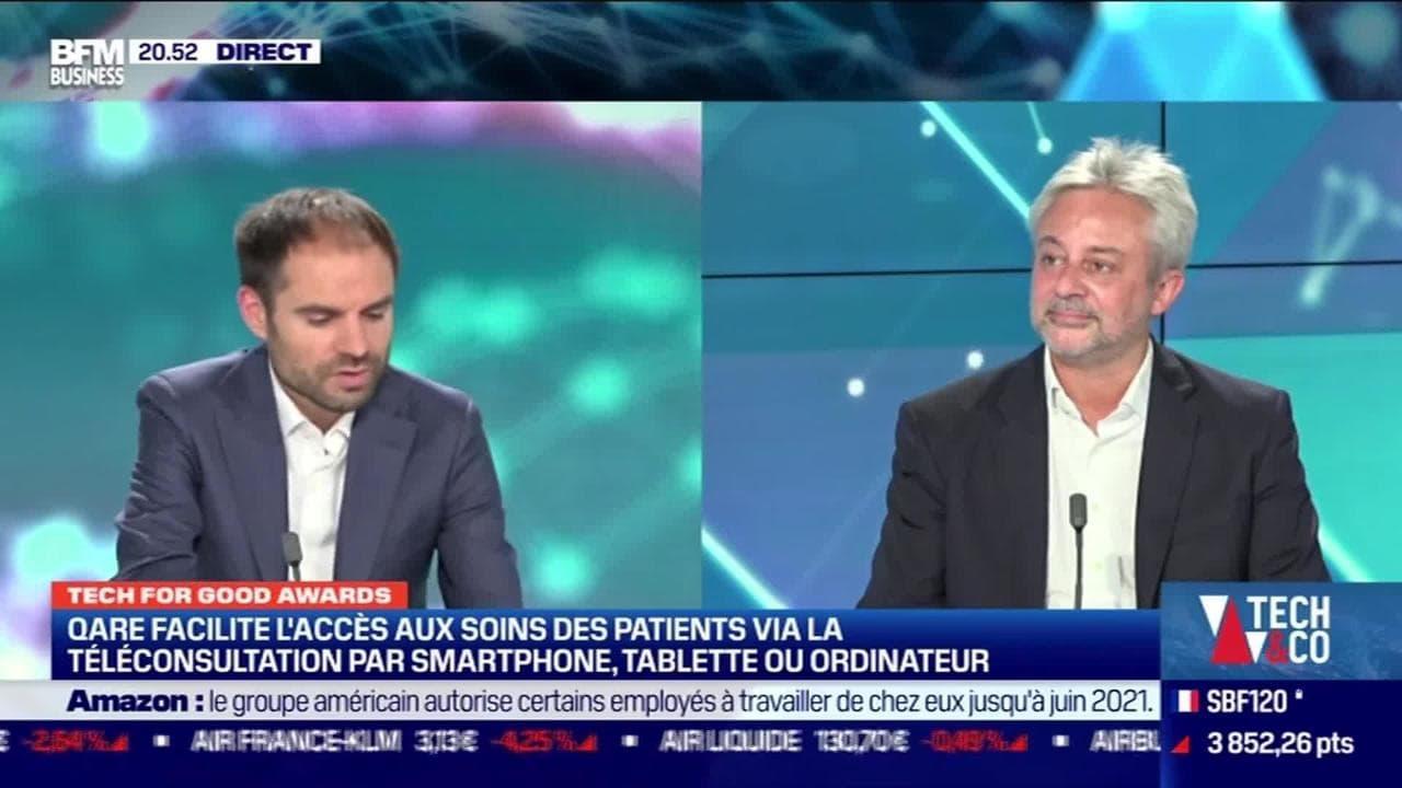 Tech for Good Awards : Qare, pionnier de la téléconsultation en France, a intégré la première promotion French Tech 120 en janvier - 21/10