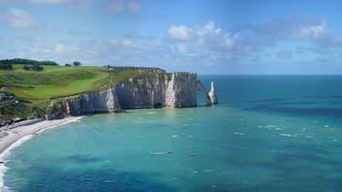Etretat, en Normandie