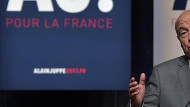Alain Juppé à Strasbourg, le 13 septembre 2016.