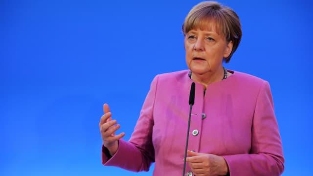La chancelière allemande Angela Merkel, le 8 janvier 2016.