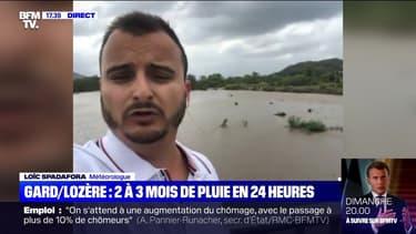 Story 3 : Deux à trois mois de pluie en 24 heures dans le Gard et la Lozère - 12/06