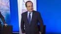 François Hollande, ce jeudi à Aubervilliers (Seine-St-Denis).