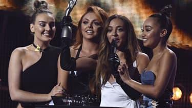 Le groupe Little Mix, récompensé aux Brit Awards, le 22 février 2017
