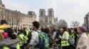 Une manifestation de gilets jaunes à Paris, en mars 2019.