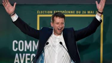 Yannick Jadot, le soir des résultats des élections européennes à Paris, le 26 mai 2019.