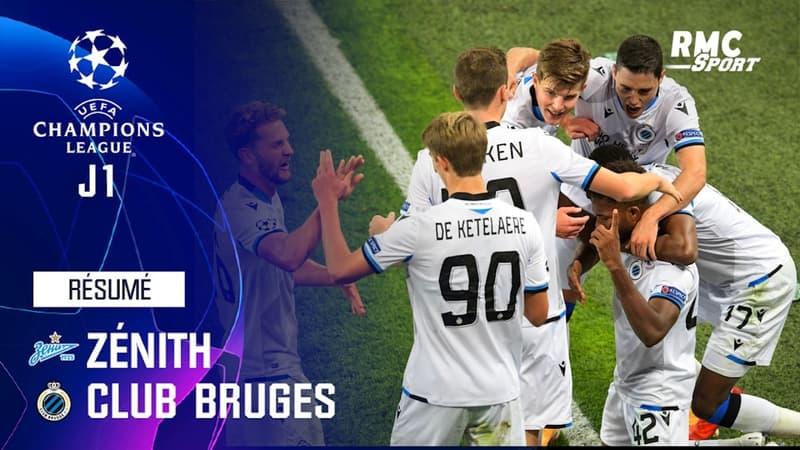 Résumé : Zénith 1-2 Bruges - Ligue des champions J1