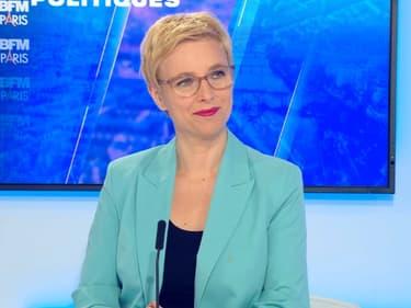 Clémentine Autain, candidate LFI en Île-de-France.