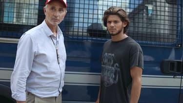 Thierry Lhermitte et Rayane Bensetti dans La Finale