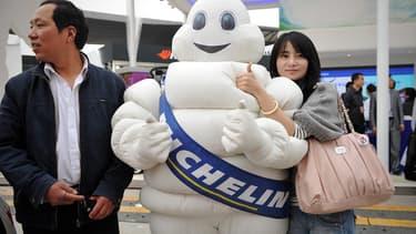 Michelin proposera des possibilités d'entretien dans son réseau TyrePlus à chaque fois qu'un client confiera son véhicule à la start-up chinoise e Dai Bo.