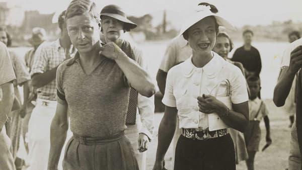 Edouard VIII et Wallis Simpson en 1936.