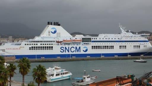 La SNCM est en grève depuis mercredi 1er janvier