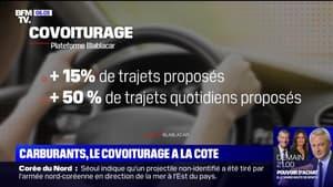Avec la hausse des prix du carburant, les trajets proposés en covoiturage augmentent